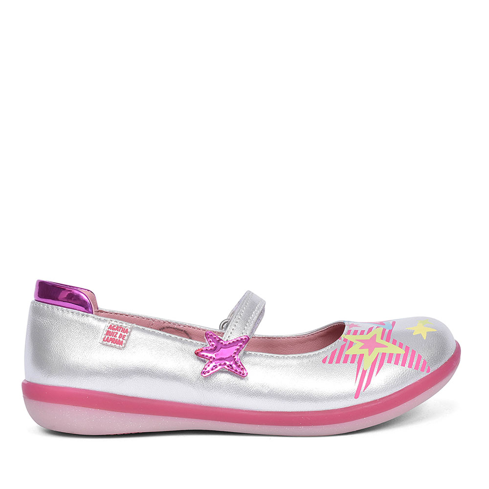 GIRLS MARY JANE SHOES in SILVER