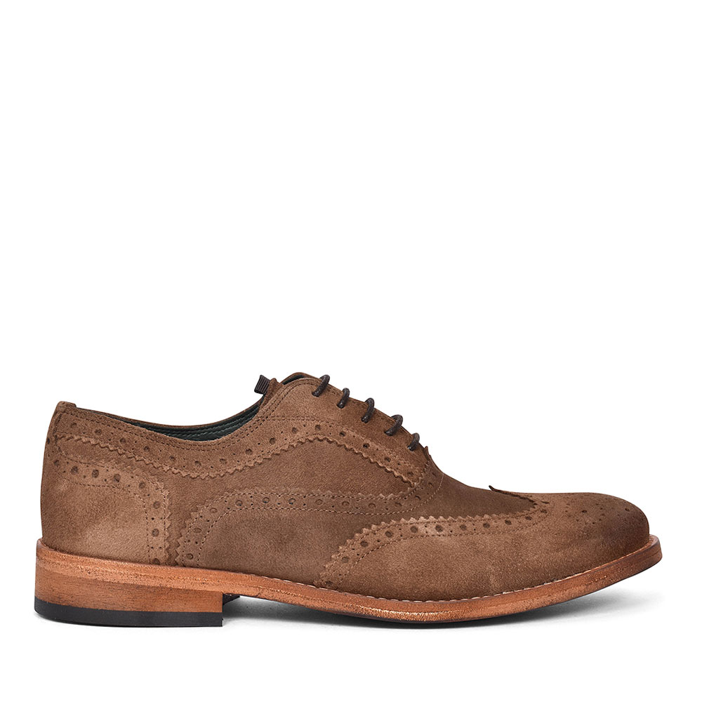 MFO0367 BEALE SUEDE BROGUE FOR MEN in BROWN