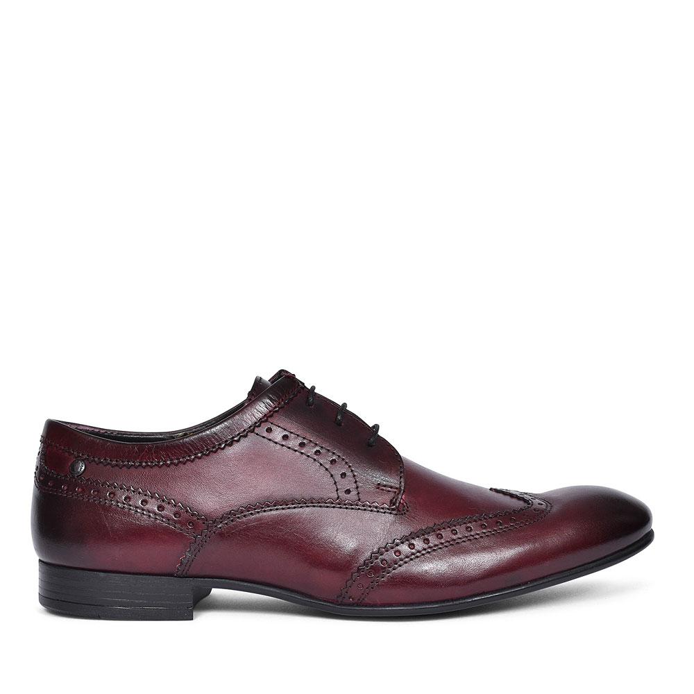 PURCELL BROGUE SHOE FOR MEN in BURGANDY