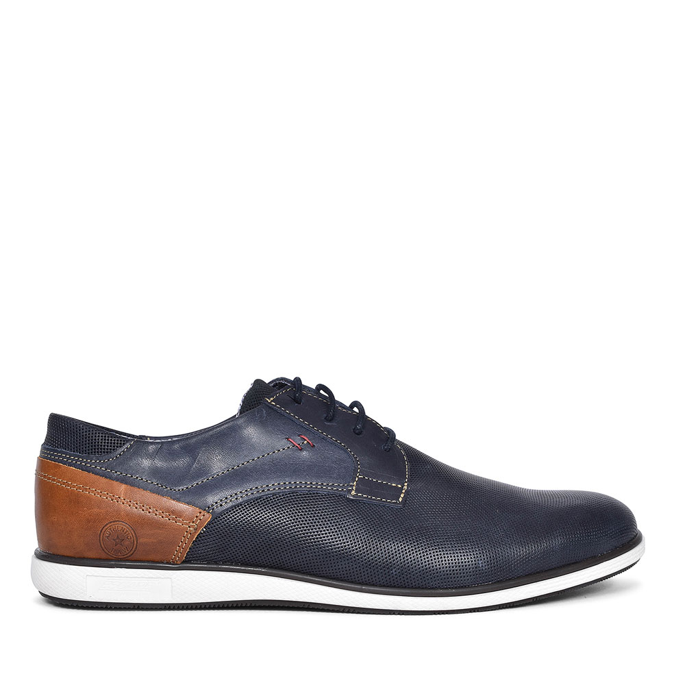 BAER CASUAL LACE UP SHOE FOR MEN in NAVY