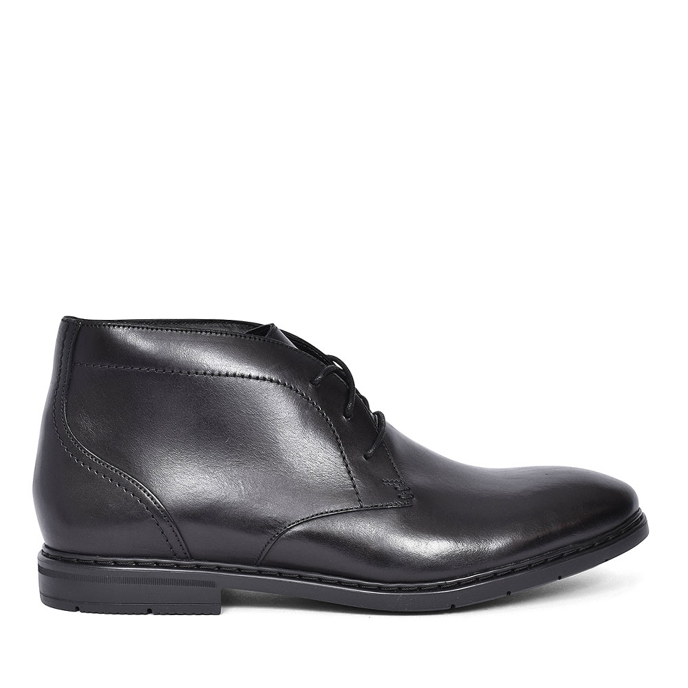 BANBURY MID LEATHER BOOT FOR MEN in BLK LEATHER
