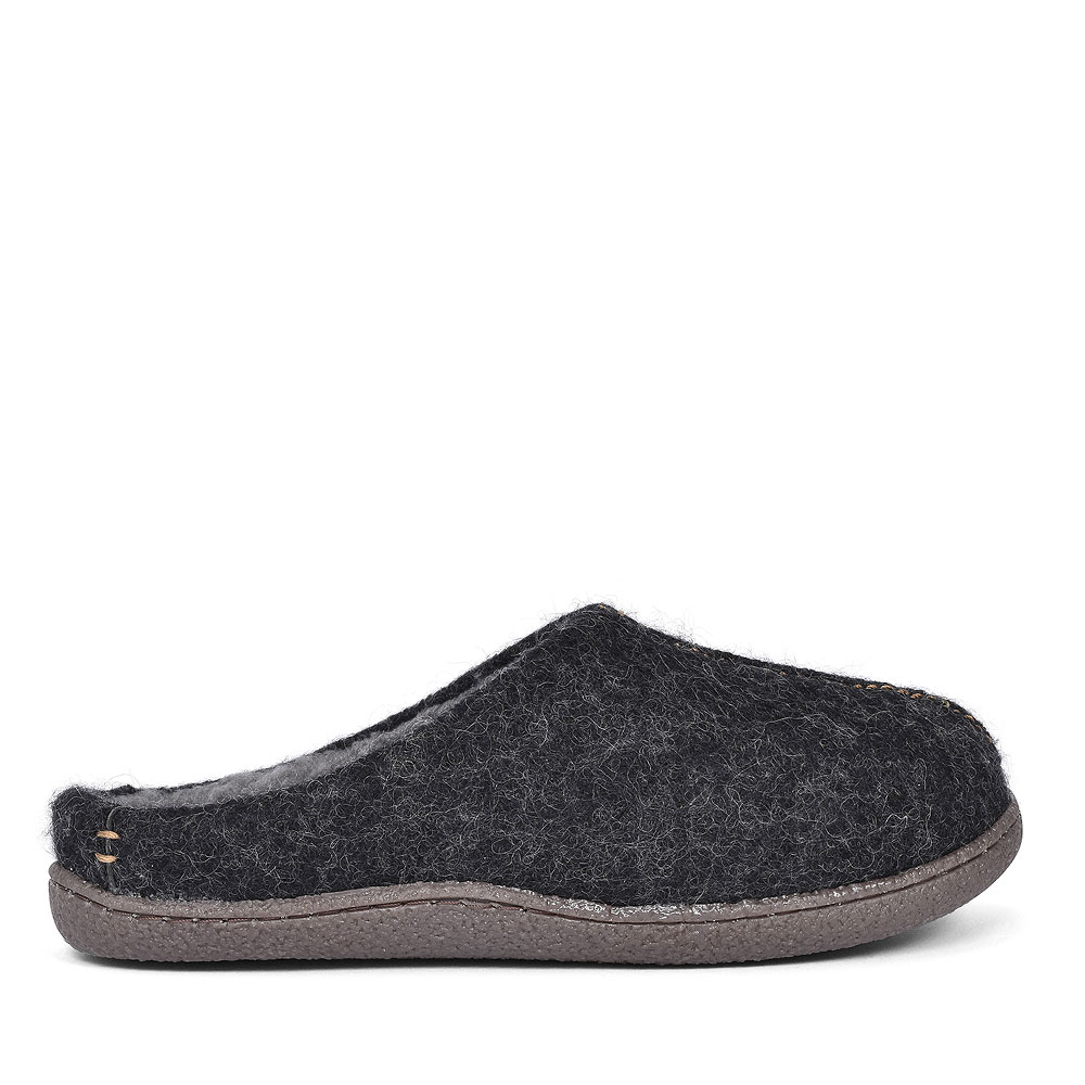 RELAXED STYLE SLIPPER FOR MEN in DARK GREY