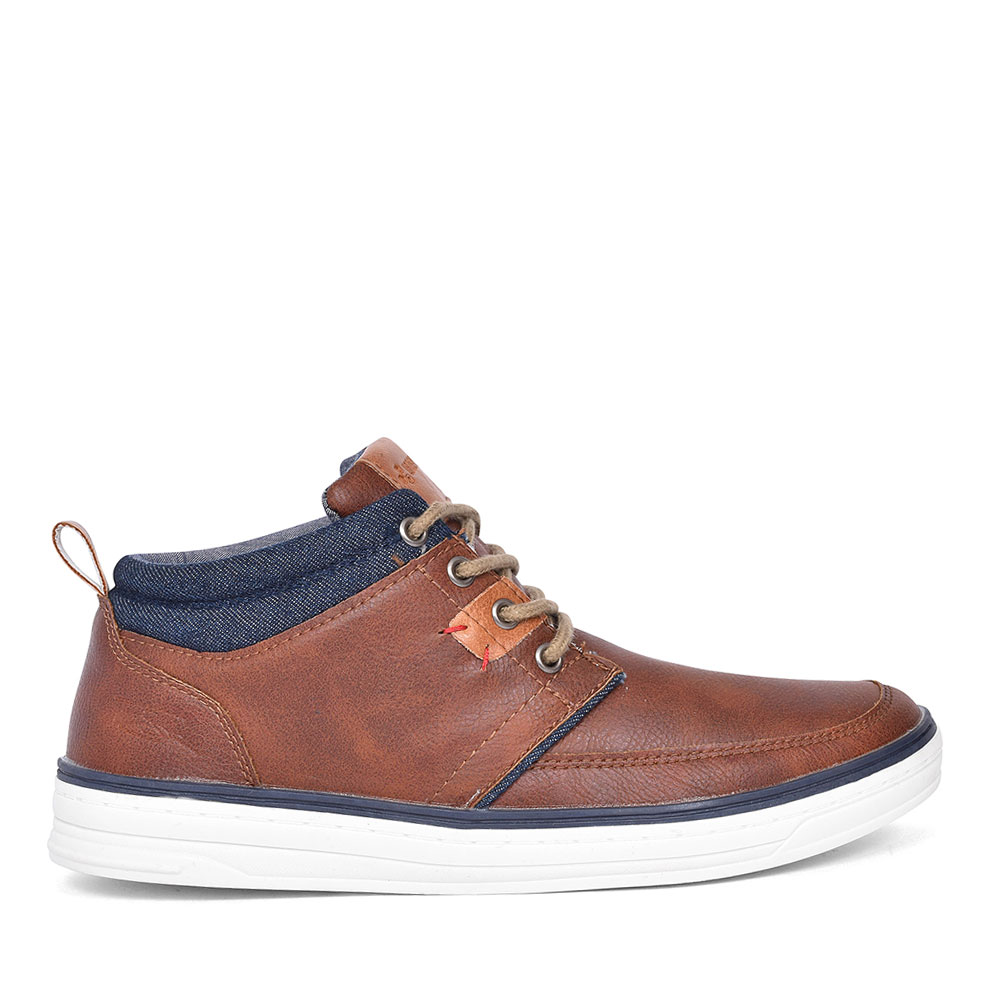 MCGARRY CASUAL LACE UP BOOT FOR MEN in CAMEL