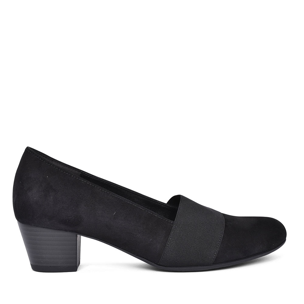 92.052 COURT SHOE FOR LADIES in BLACK