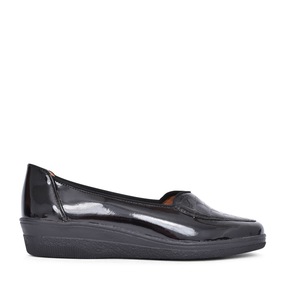 LADIES BLANCHE 404 SHOE FOR LADIES in BLK PATENT