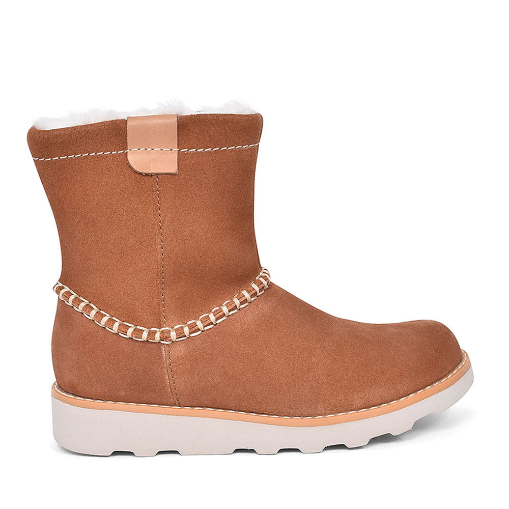 CROWN PIPER SUEDE BOOT FOR GIRLS in KIDS G FIT