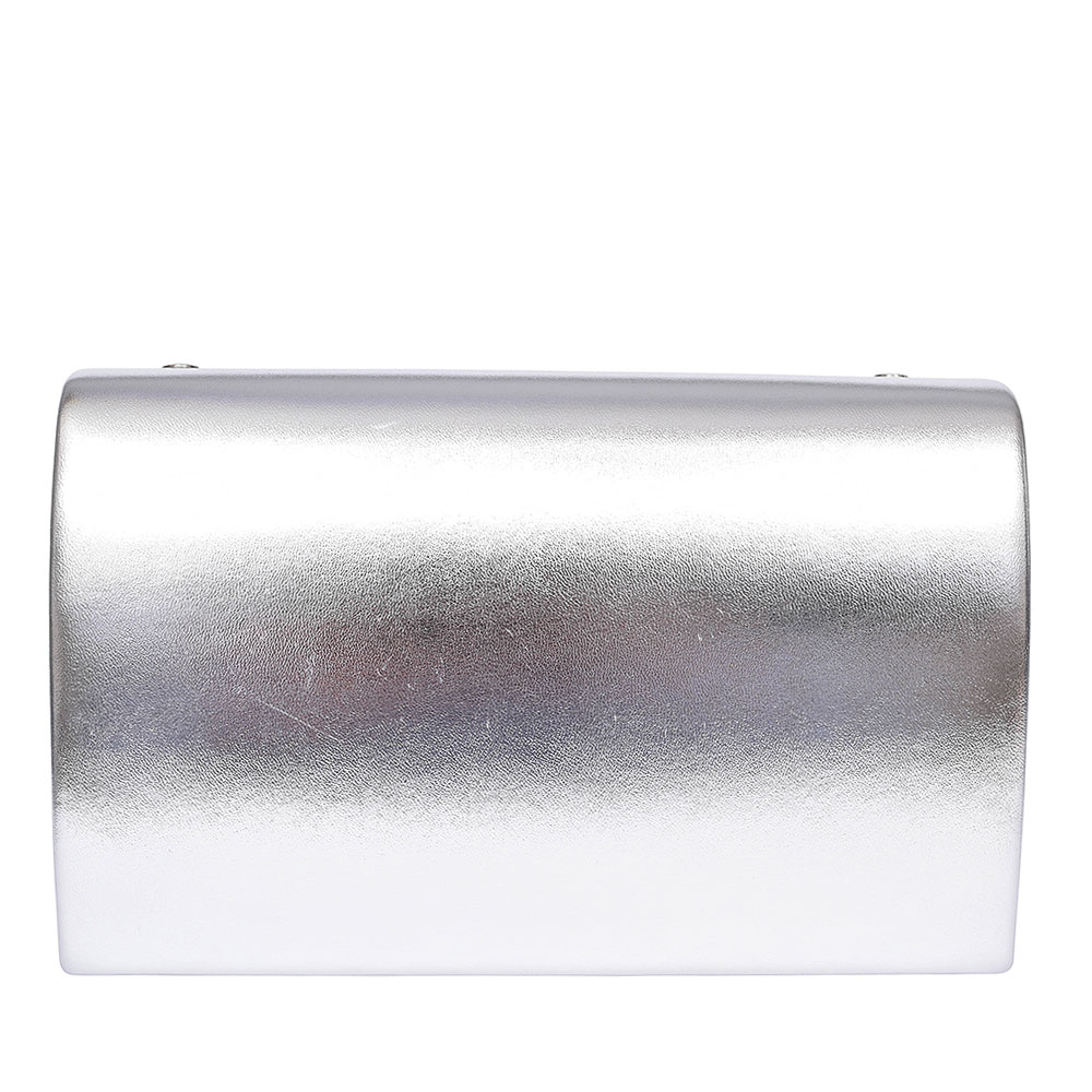 LADIES FOR MYSELF CLUTCH BAG in SILVER