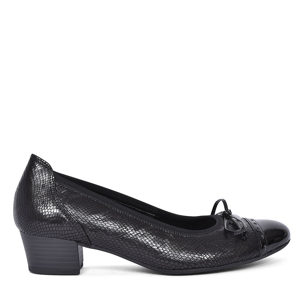 WALLACE SHOE FOR LADIES in BLACK