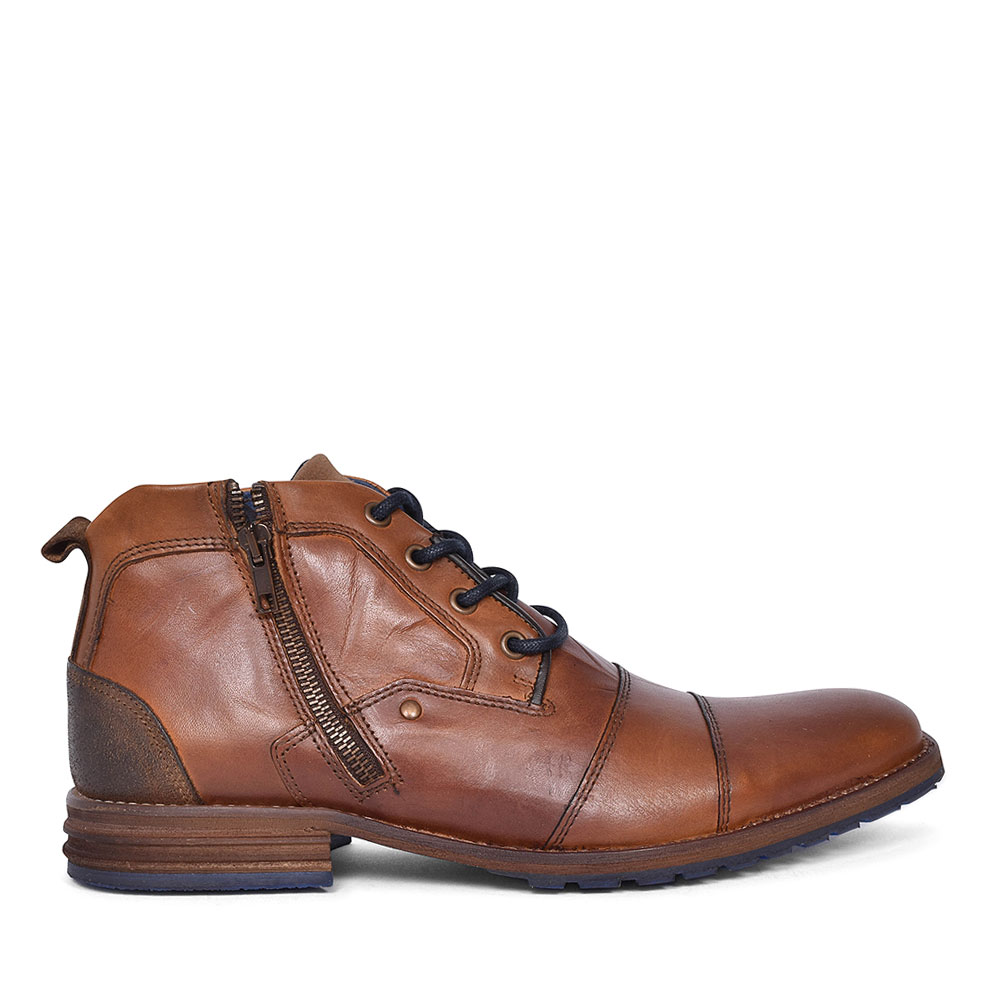 STAR SHOOT CASUAL ANKLE BOOT FOR MEN in TAN