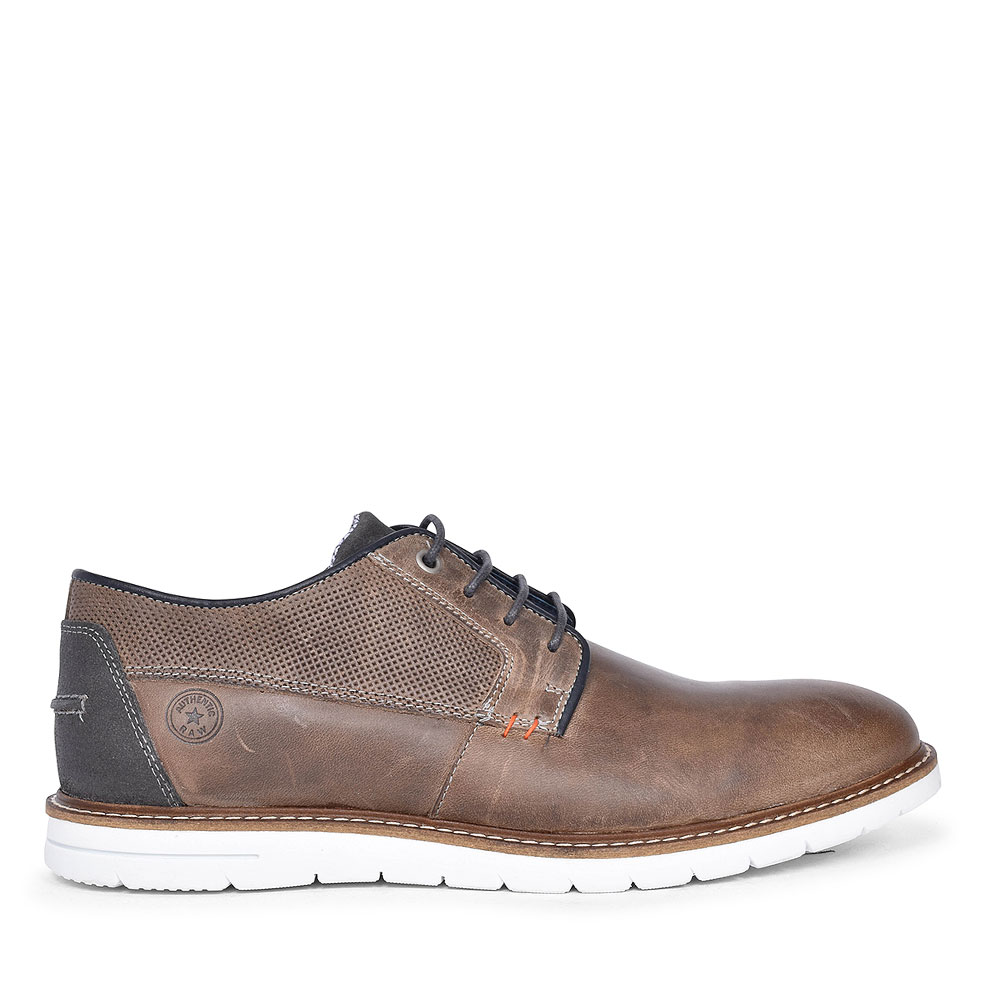 KINGS BEST CASUAL LACED SHOE FOR MEN in BROWN