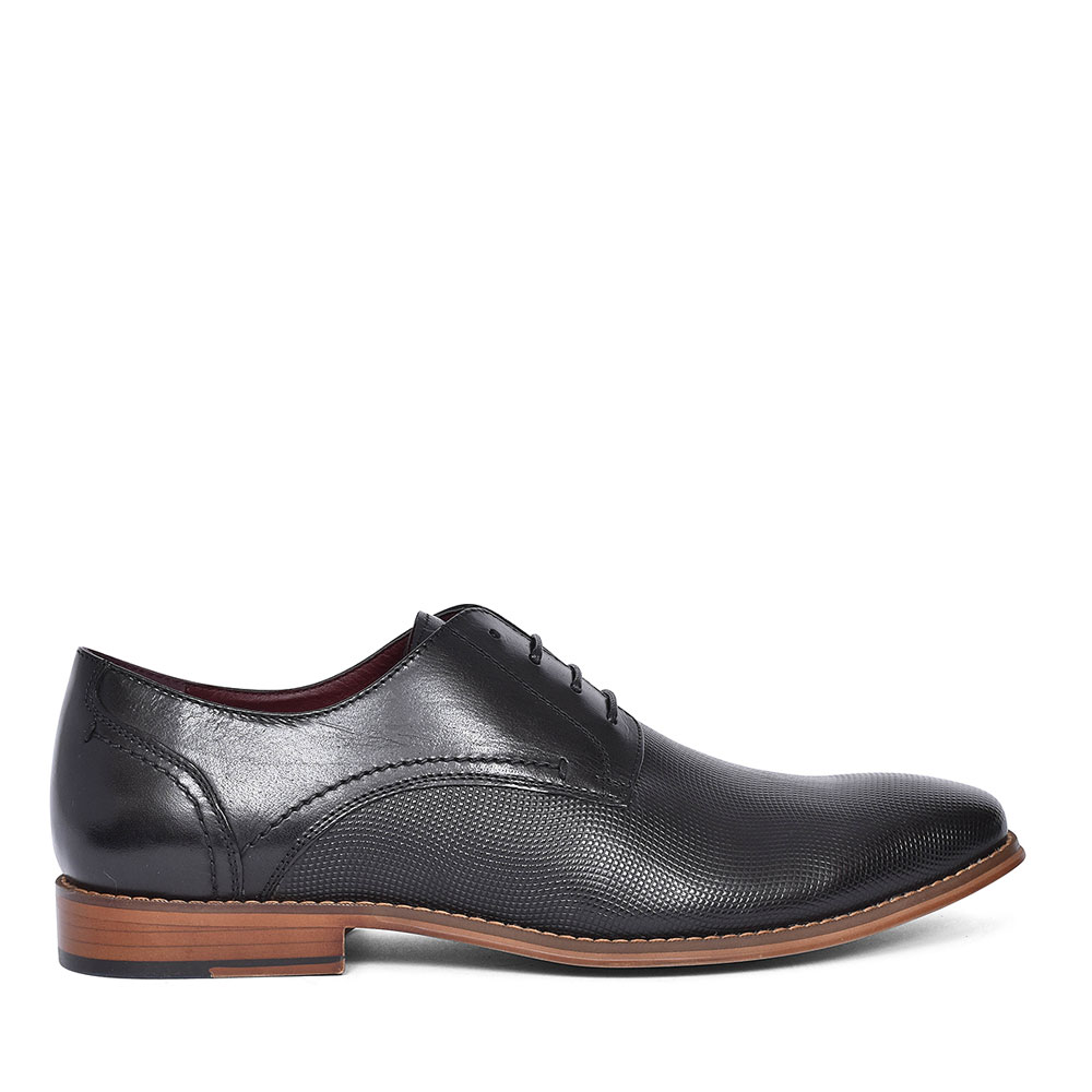 FLORIDA SUN LACED BROGUE SHOE FOR MEN in BLACK
