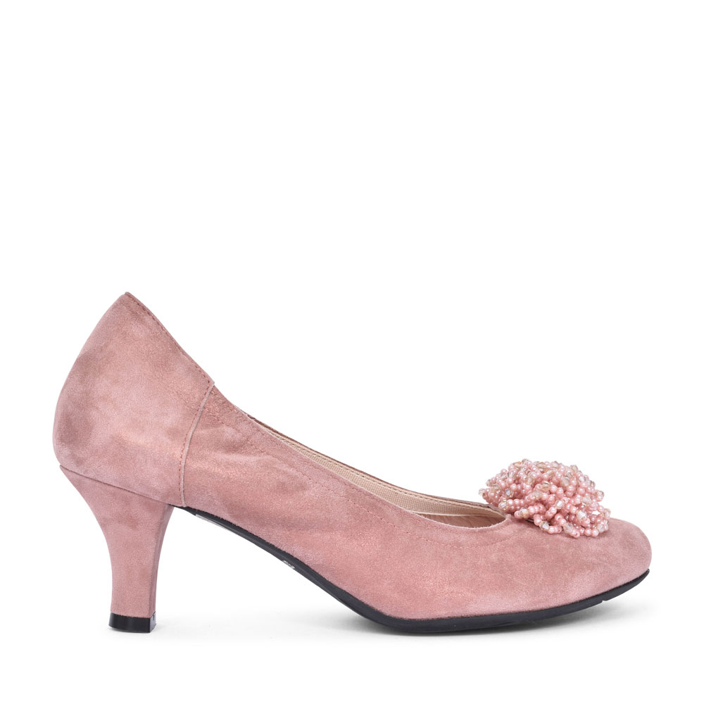 3002 PINK COURT SHOE FOR LADIES in PINK