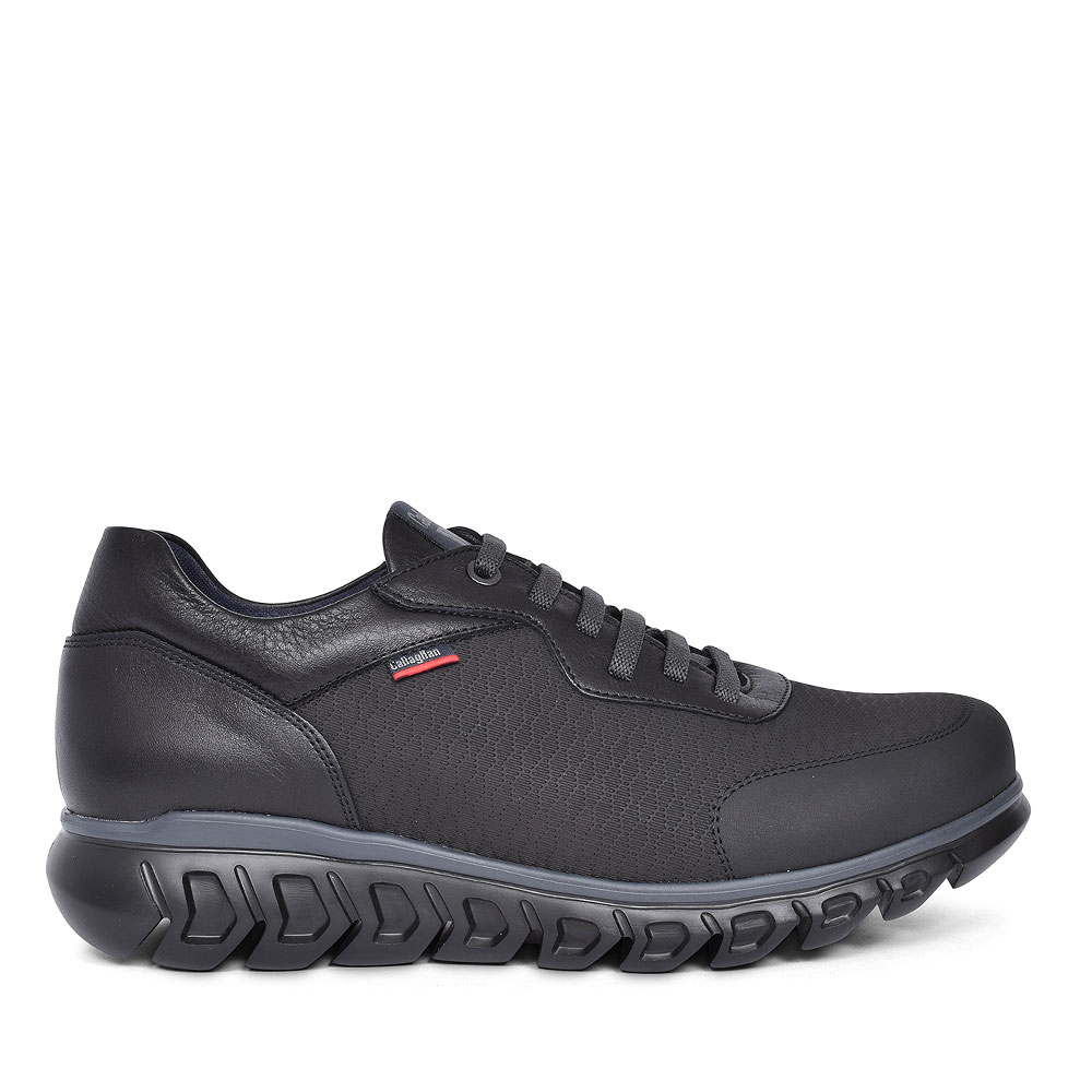 LACE UP CASUAL SHOE FOR MEN in BLACK
