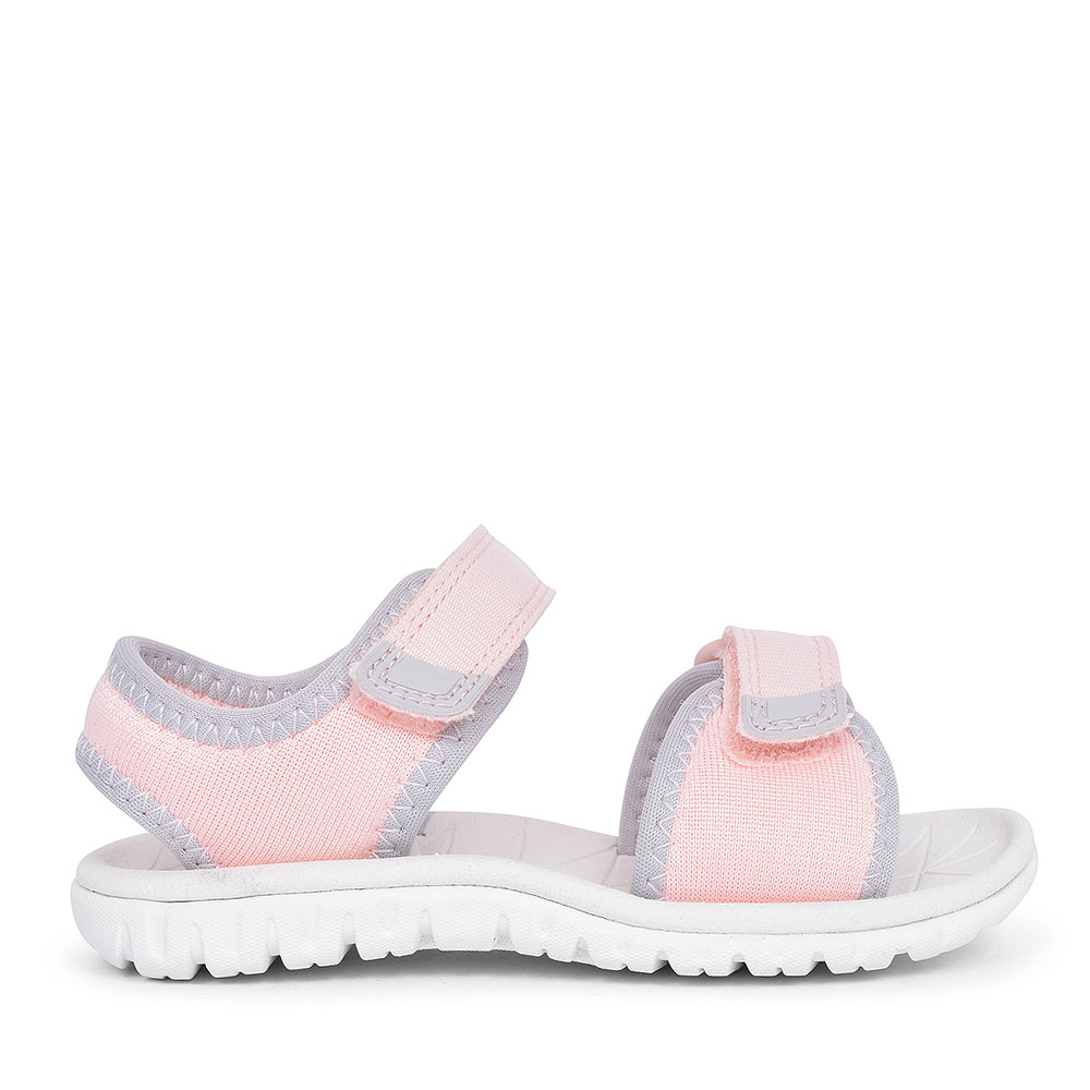 SURFING TIDE PINK SYNTHETIC SANDAL FOR GIRLS in KIDS F FIT