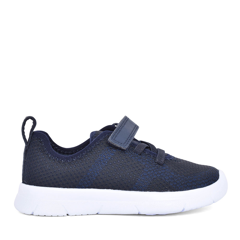 ATH FLUX NAVY TEXTILE TRAINER FOR BOYS in KIDS G FIT