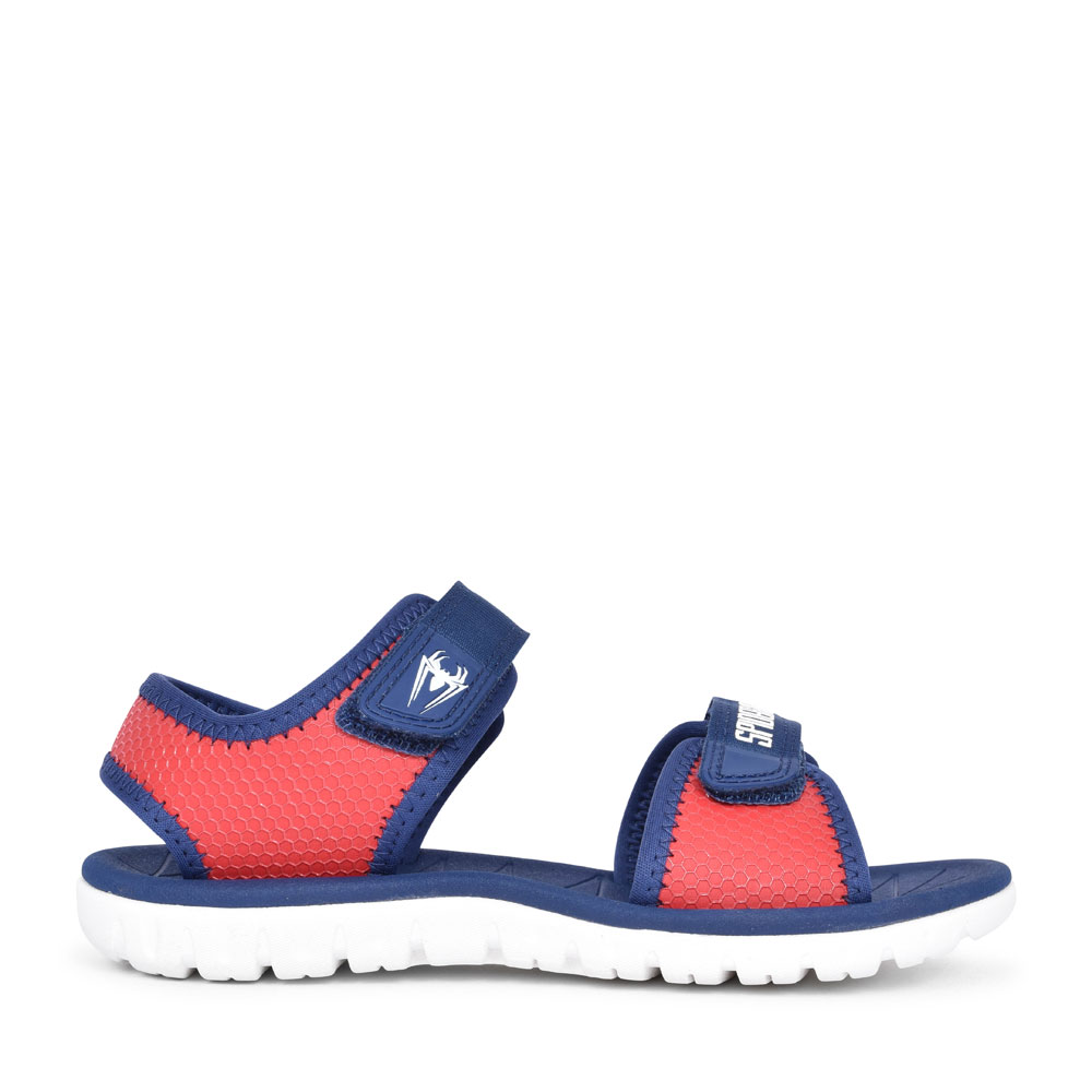 SURFING WEB RED SYNTHETIC SANDAL FOR BOYS in KIDS G FIT