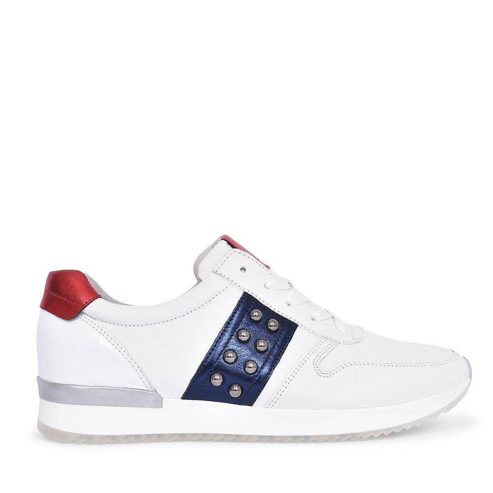 24.421 CASUAL TRAINER FOR LADIES in WHITE