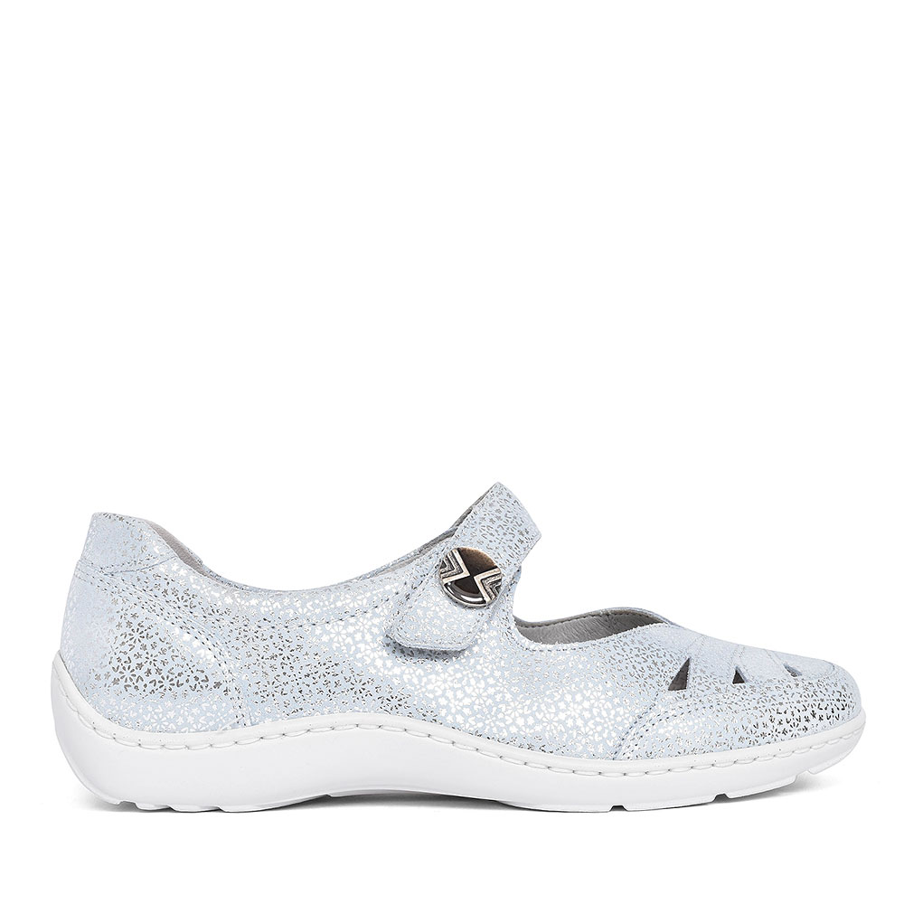 469309 HENNI MARY JANE SHOE FOR LADIES in SILVER