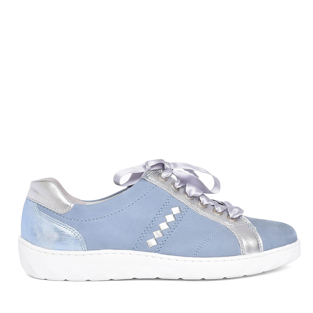 921004 HERNE LACE UP TRAINER FOR LADIES in BLUE