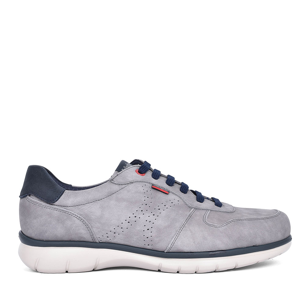 88312 CASUAL LACED TRAINER FOR MEN in GREY