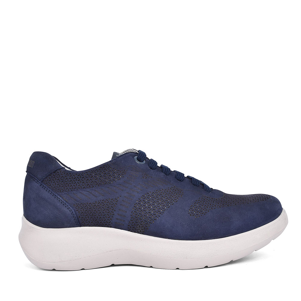 16602 CASUAL LACED TRAINER FOR MEN in NAVY