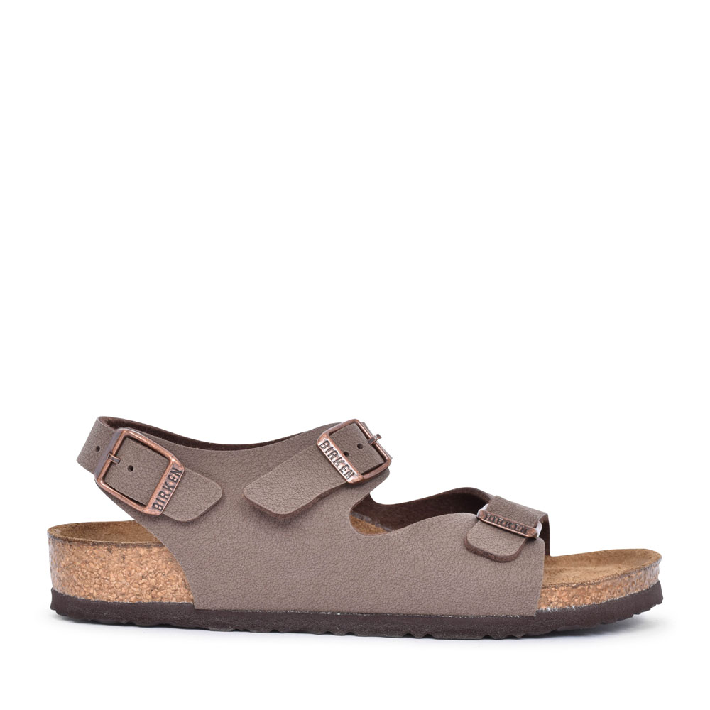 233073 ROMA TWO STRAP WALKING SANDAL FOR BOYS in BROWN