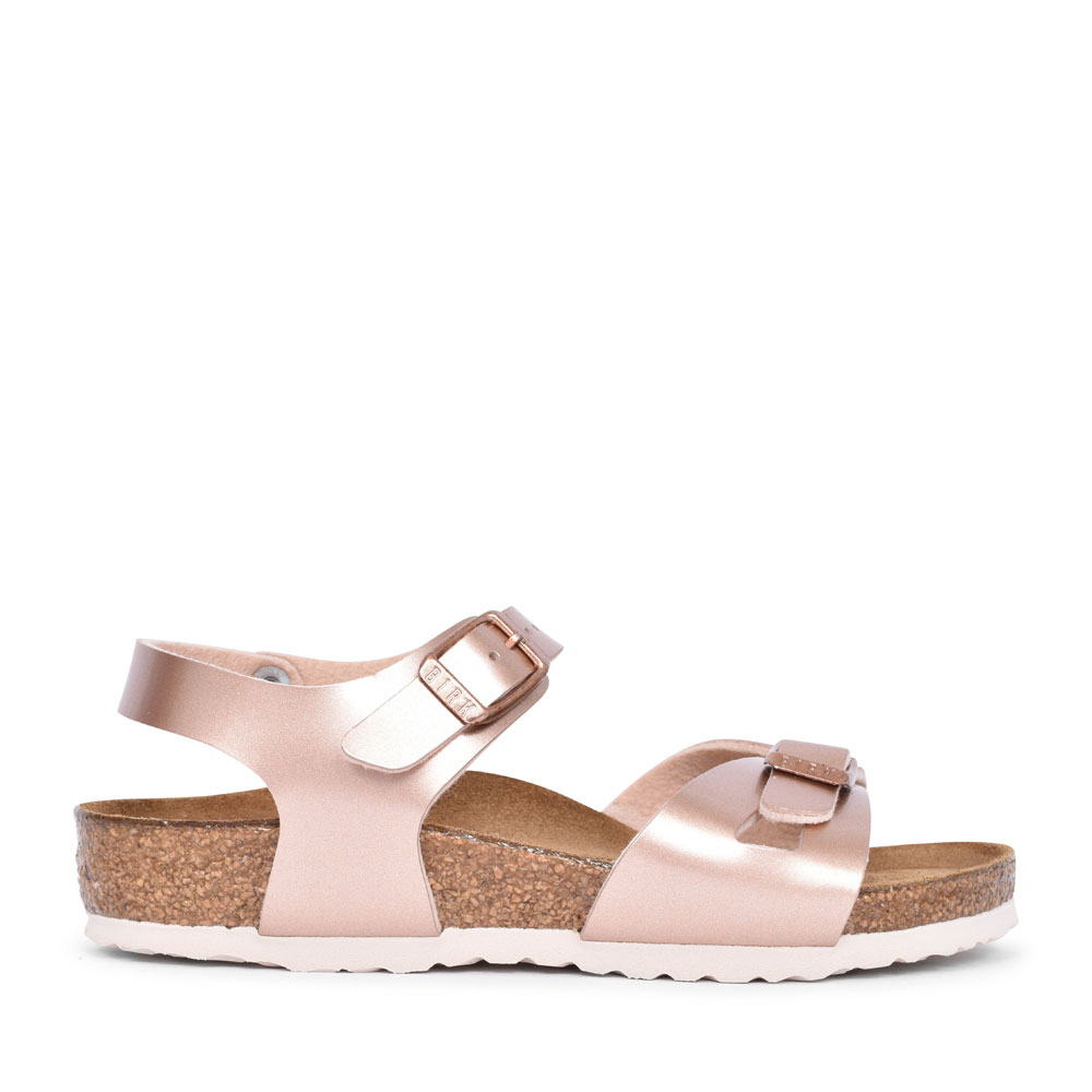 1012520 RIO ANKLE STRAP WALKING SANDAL FOR GIRLS in COPPER