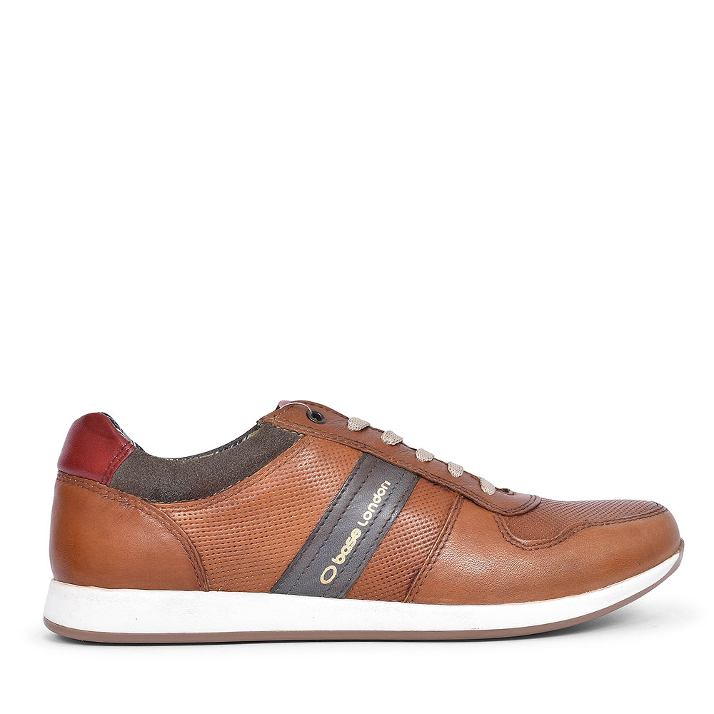 ECLIPSE TJ01 CASUAL LACED TRAINER FOR MEN in TAN