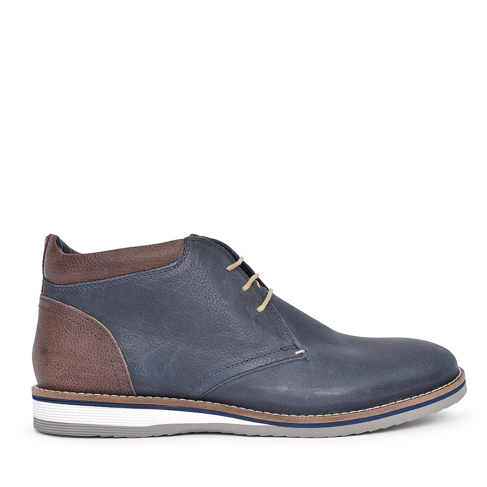 TAYLOR TE03 LACED DESERT BOOT FOR MEN in NAVY