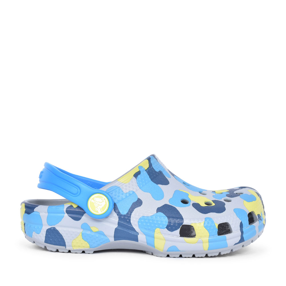 CLASSIC GRAPHIC CLOG FOR BOYS in GREY