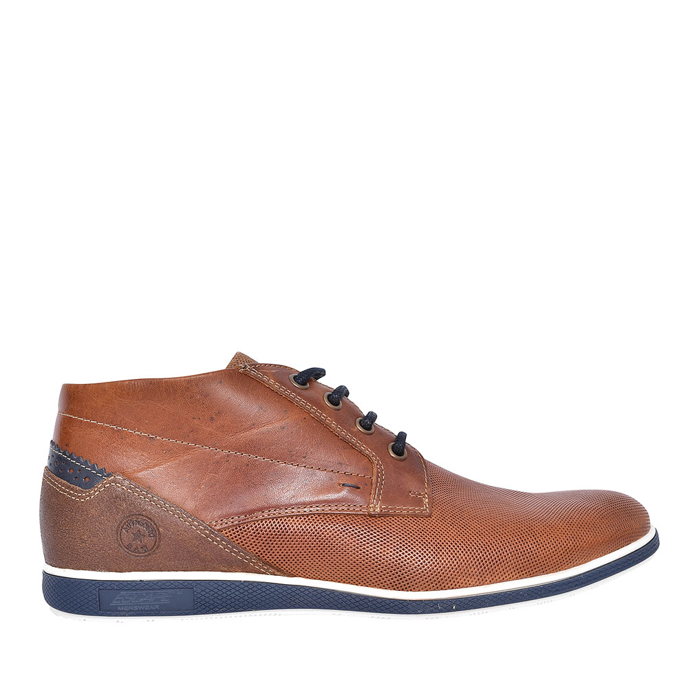 THE EAGLE EYED LACED ANKLE BOOT FOR MEN in TAN