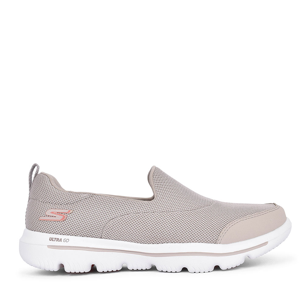 15730 GO WALK SLIP ON SHOE FOR LADIES in TAUPE