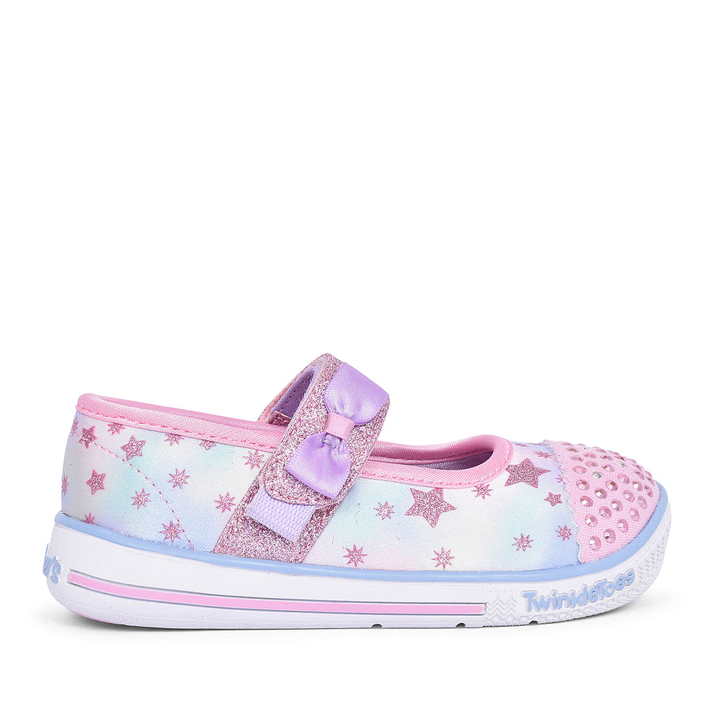20140N TWINKLE PLAYS VELCRO SHOE FOR FOR GIRLS in PINK