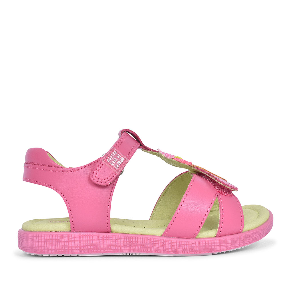192939 ICE CREAM VELCRO SANDAL FOR GIRLS in PINK