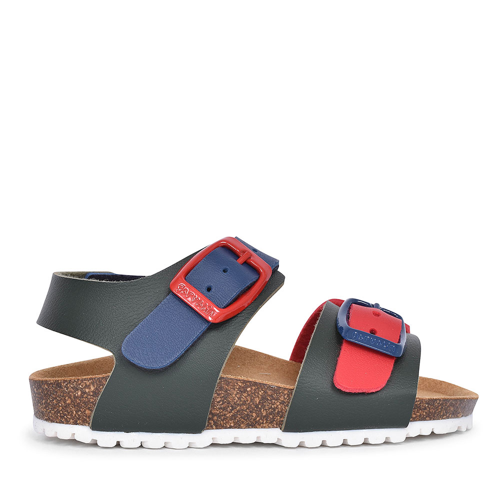 192480 DOUBLE BUCKLE WALKING SANDAL FOR BOYS in MULTI-COLOUR