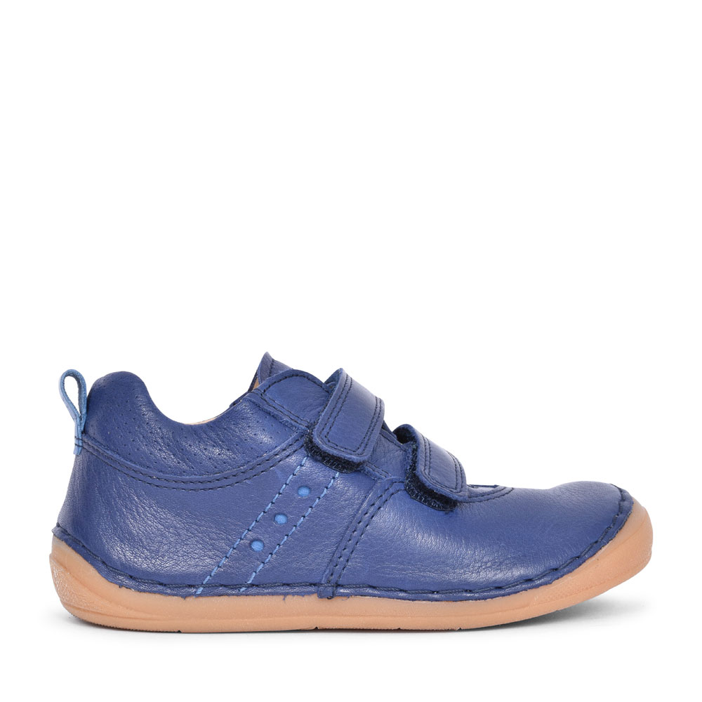 G2130160 CASUAL DOUBLE VELCRO SHOE FOR BOYS in NAVY