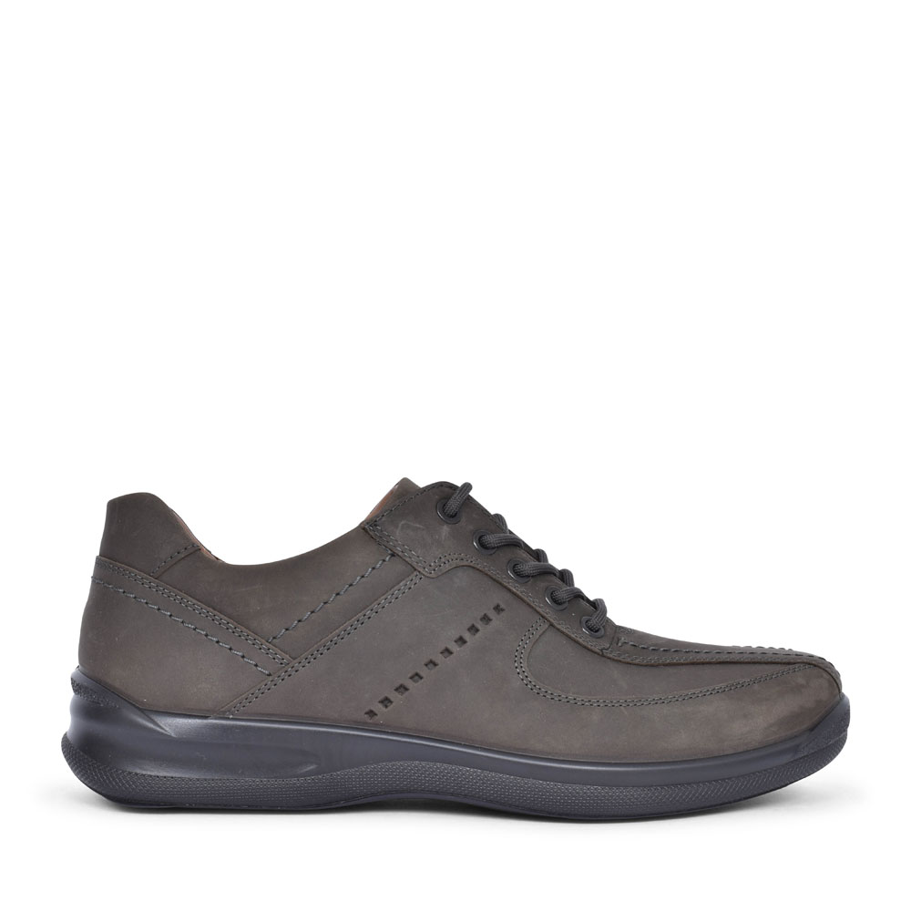 LANCE LEATHER LACED SHOE FOR MEN in PETROL
