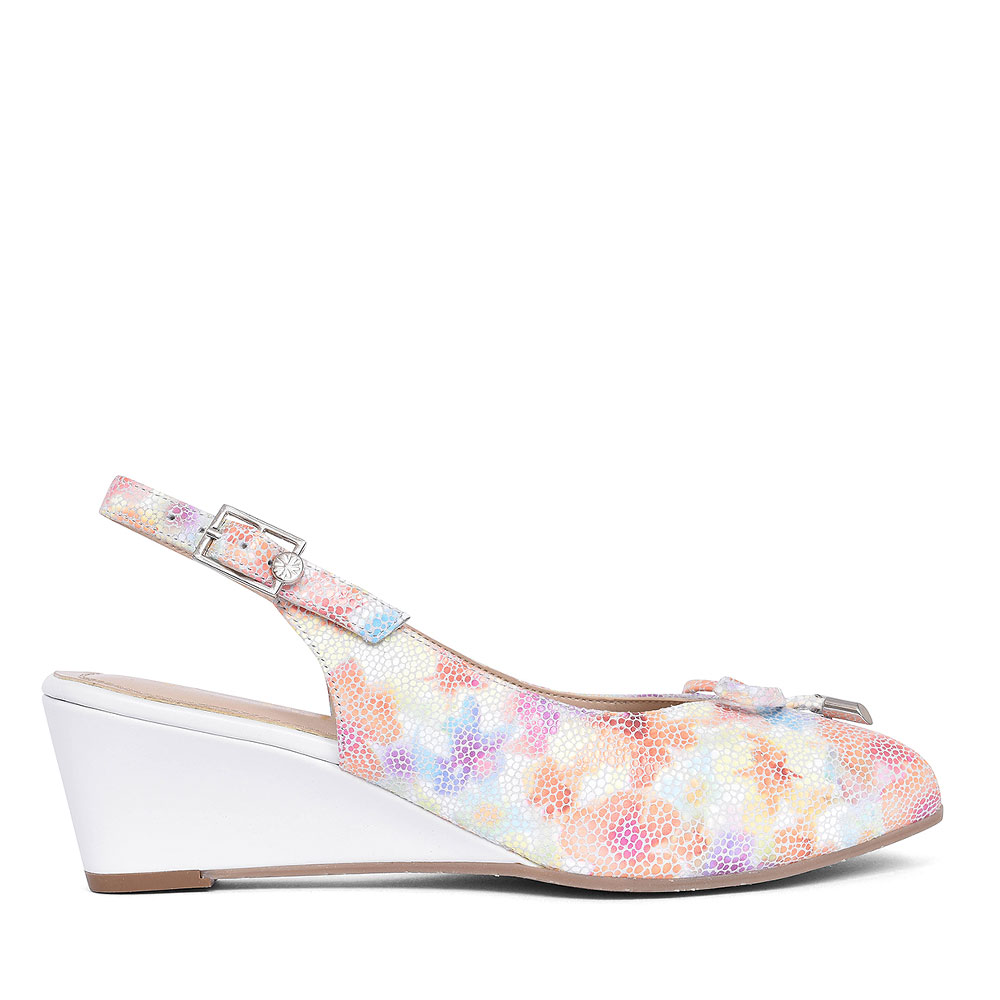 OXLEY SLING BACK SHOE FOR WOMEN FOR LADIES in WHITE