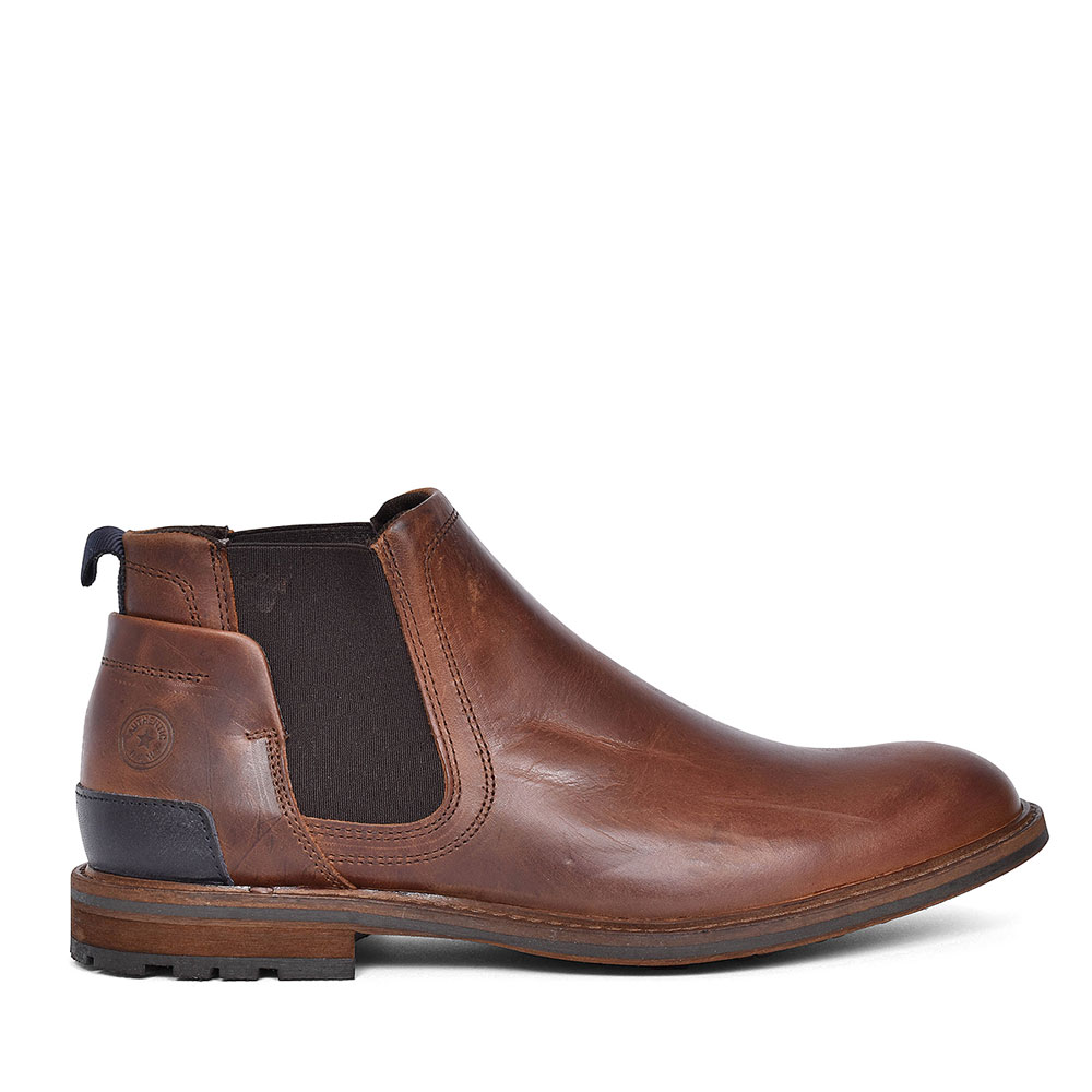 KRUS CASUAL ANKLE BOOT FOR MEN in BROWN