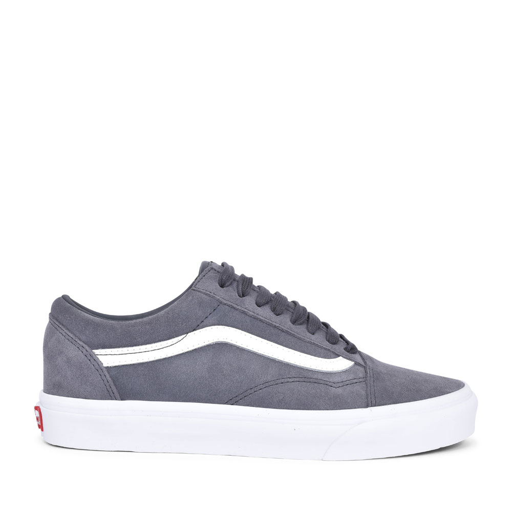 OLD SKOOL CASUAL LACED TRAINER FOR MEN in GREY
