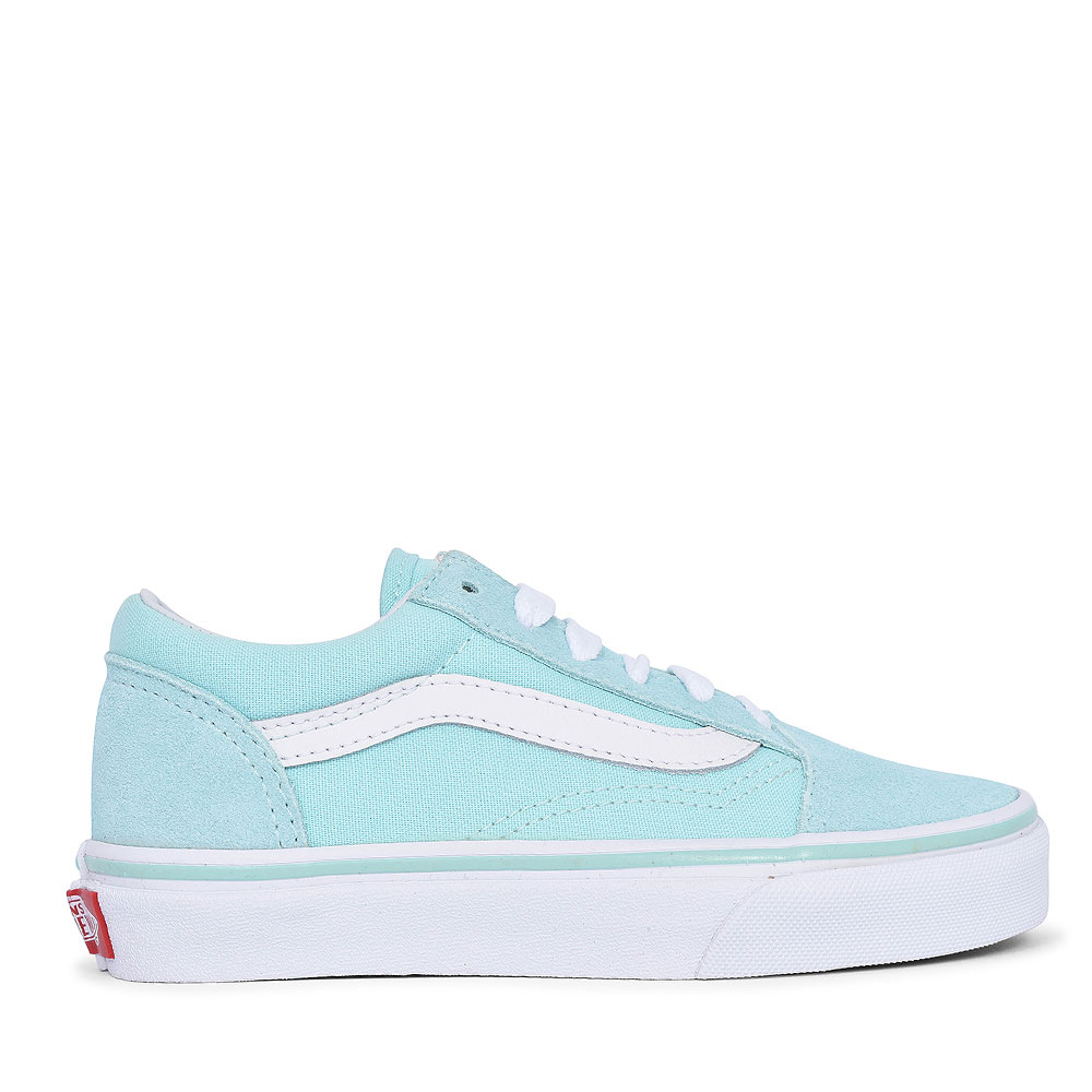 OLD SKOOL CASUAL LACED TRAINER FOR GIRLS in AQUA