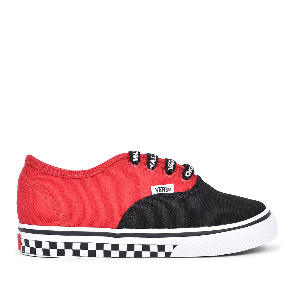 AUTHENTIC CASUAL LACED TRAINER FOR BOYS in RED