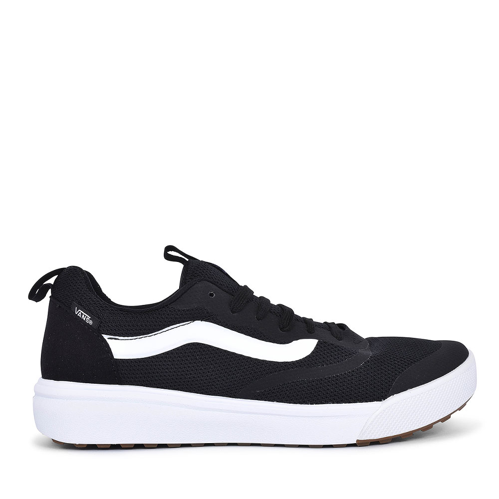 ULTRARANGE CASUAL LACED TRAINER FOR MEN in BLACK