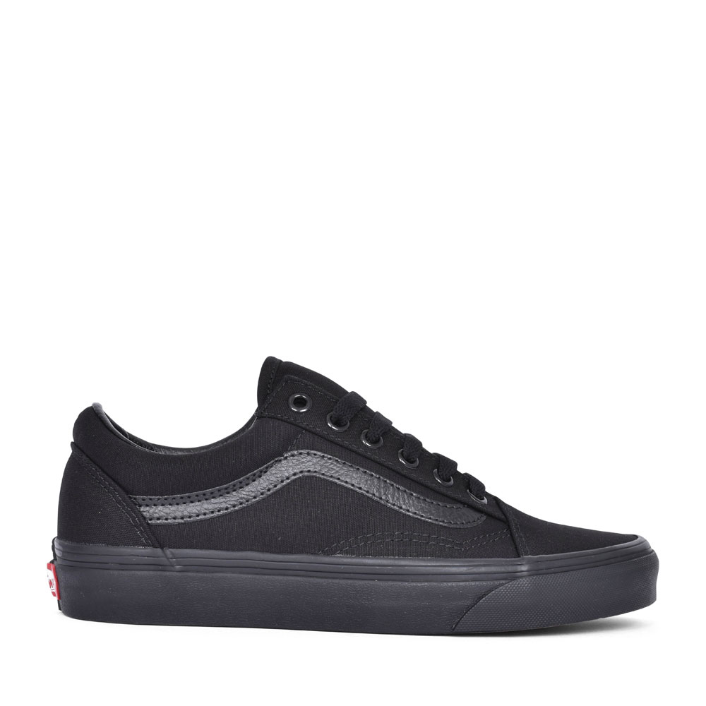 OLD SKOOL CASUAL LACED TRAINER FOR LADIES in BLACK