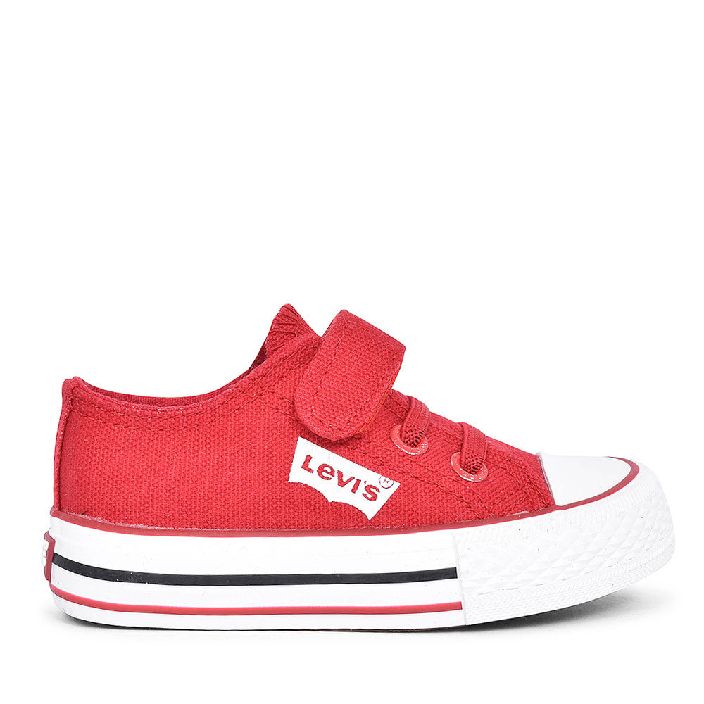 DCL032 TRUCKER CANVAS SHOE FOR BOYS in RED