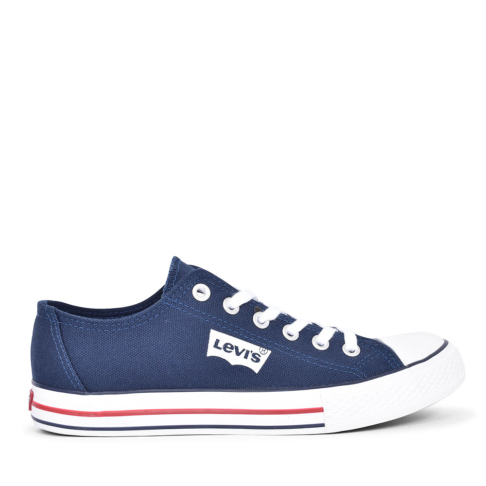 DCL128 TRUCKER LOW CANVAS SHOE FOR BOYS in NAVY