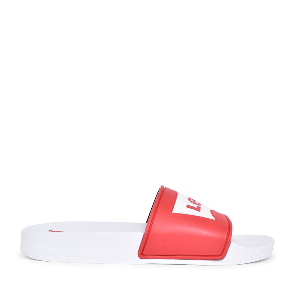 DCL132 SLIP ON SANDAL FOR BOYS in RED
