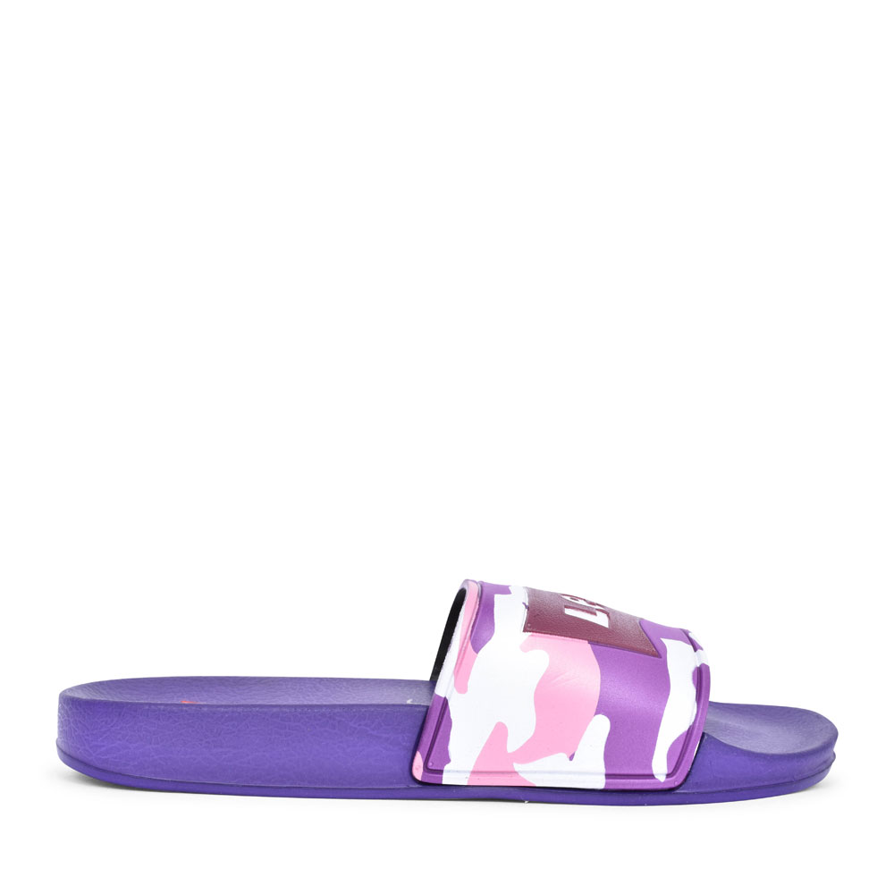 DCL132 SLIP ON SANDAL FOR BOYS in PURPLE