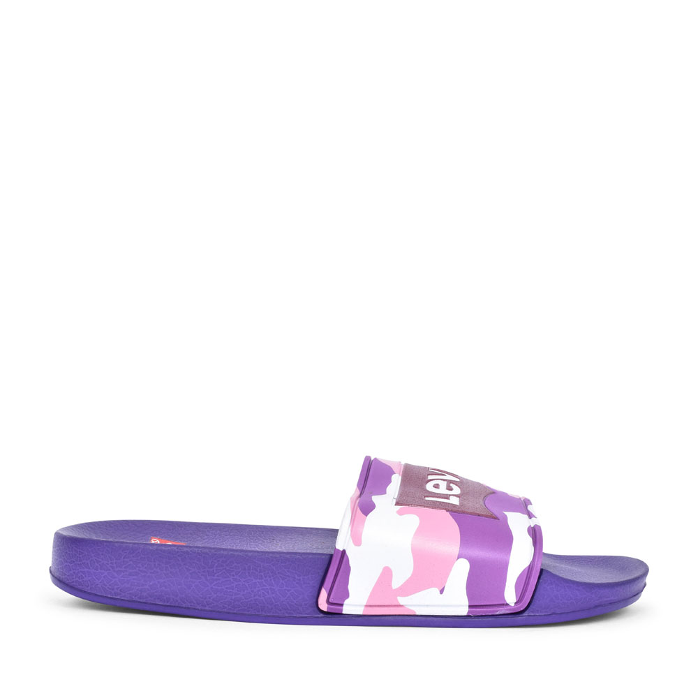 DCL133 SLIP ON SANDAL FOR BOYS in PURPLE