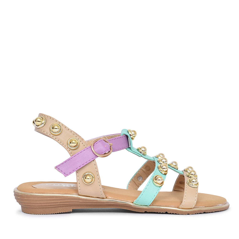 JCH009 ENYA SANDAL FOR GIRLS in BEIGE